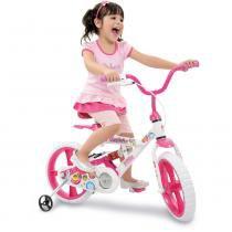 Bicicleta X-Bike Gatinha Aro 14 - Bandeirante - Bandeirante