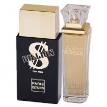 Billion Eau de Toilette Paris Elysees - Kit Namorados 2 Perfumes 100ml - Paris Elysees
