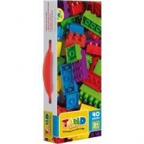 Blocos de Montar 40 Peças - Tand Kids Maleta de Blocos 2176 Toyster