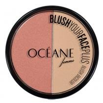 Blush Your Face Plus Océane - Duo de Blush - Coral - Océane