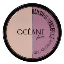 Blush Your Face Plus Océane - Duo de Blush - Purple - Océane