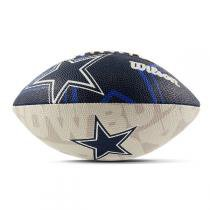Bola de Futebol Americano Wilson NFL Team Logo Dallas Cowboys Jr - Wilson