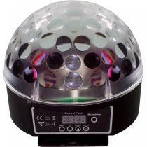 Bola Mágica W XC-XL-10 DMX com 6 LEDs Bivolt - X-Cell - X-CELL