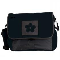 Bolsa Maternidade Simply Good Daisy Diaper - Black Gray - Simply Good