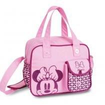 Bolsa para Passeio Minnie Disney Baby Go Baby Bag Luxo Média com Trocador - Baby Go