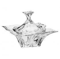 Bomboniere de Cristal Ecológico 20,5 cm - Florale - BOHEMIA
