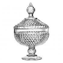 Bomboniere De Vidro 24,5 cm - Diamond - FULLFIT