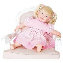 Boneca Adoro Meu Bebê Fala 80 Frases - Super Toys