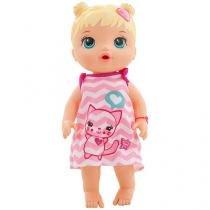 Boneca Baby Alive Cuida De Mim - Loira - Hasbro