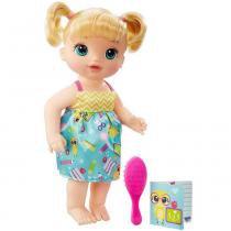 Boneca Baby Alive Escolinha Loira B7223 - Hasbro - Hasbro