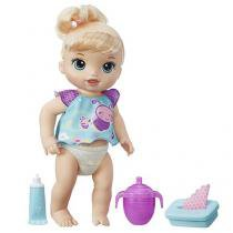 Boneca Baby Alive Fraldinha Mágica - Loira - Hasbro
