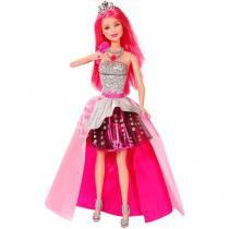 Boneca Barbie Rock`N Royals - Mattel