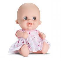 Boneca Bebê Babies Expressões Alegria 20cm Bee Toys - Bee Toys