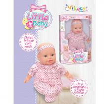 Boneca Bebêzinha Little Baby Meiga e Fofinha Miketa - Diversos