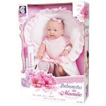 Boneca Bebezinho da Mamãe Pequena - Cotiplás