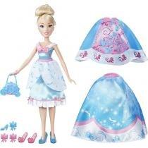 Boneca Cinderela Lindos Vestidos Disney Princess - Hasbro