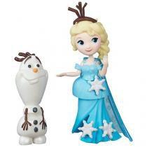 Boneca Disney Frozen Elsa e Olaf - Hasbro