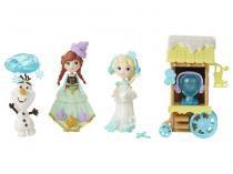 Boneca Disney Frozen - Mini Cenário Patinação no Gelo Hasbro