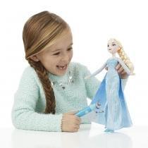 Boneca Elsa Vestido Mágico - Hasbro - Frozen