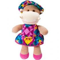 Boneca Hipopótamo Fofolete - Anjos Baby