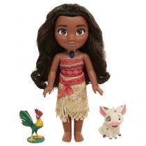 Boneca Moana Cantora Disney - Sunny Brinquedos