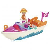 Boneca Polly Pocket - Super Lancha - Mattel - Mattel