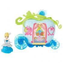 Boneca Princesas Disney Mini Cenário Luxo - Princesa Cinderela Hasbro