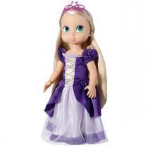 Boneca Stephany Girl Princesa Rapunzel 1732 - Baby Brink - Baby Brink