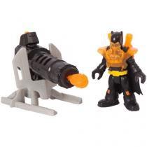 Boneco Batman Imaginext - DC Super Friends 19cm - Com Acessórios - Fisher-Price