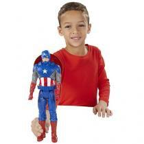 Boneco Capitão América - Hasbro