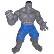 Boneco Hulk Gigante Cinza Premium 50cm 0476 Marvel - Mimo - Mimo