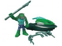 Boneco Imaginext - DC Super Friends Crocodilo - e Ski do Pantano c/ Acessórios - Fisher-Price