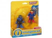 Boneco Imaginext - Liga da Justiça - Superman e Darkseid - Fisher-Price