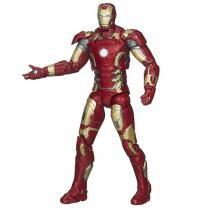Boneco Marvel Legends Infinite Series Iron Mark 43 - Com Peça adicional Hasbro