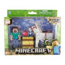 Boneco Minecraft Steve com Cavalo BR476 - Multikids - Multikids