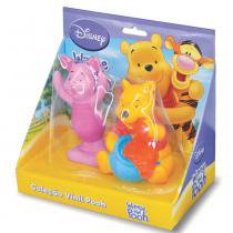 Bonecos em Vinil Pooh e Leitão 963 - Lider - Lider Brinquedos