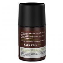 Borragem FPS 6 Korres -Creme Hidratante Facial Anti-Brilho para Homem - 45g - Korres