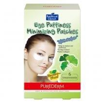 Botanical Choice Eye Puffiness Minimizing Purederm - Adesivo Redutor de Inchaço - 6 Unidades - Purederm