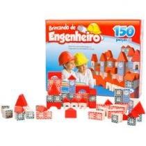 Brincando de Engenheiro 150 Peças - Xalingo