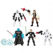 Brinquedo Bonecos Transformáveis Hero Mashers Star Wars B3659 - Hasbro - Hasbro
