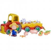 Brinquedo Caillou Trator com Pets IDCAI0020 - Intek - Intek