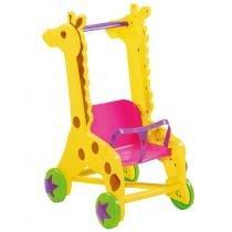 Brinquedo Carrinho de Boneca Girafa MK 243 - Dismat - Dismat