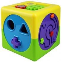 Brinquedo Cubo de Atividades Mundo Bita 14832 - MundiToys - MundiToys