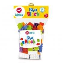 Brinquedo Educativo Riva Block (sacola) 84pcs Calesita - Calesita
