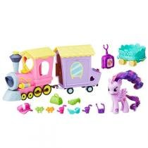 Brinquedo My Little Pony Explore Equestria Trenzinho B5363 - Hasbro - Hasbro