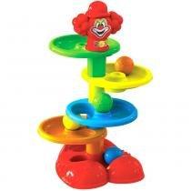 Brinquedo Palhaço Pom Pom Colorido 4039 - Maral - Maral