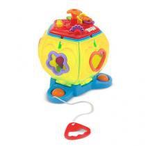 Brinquedo Penta Formas Didático com Som 4011 - Maral - Maral