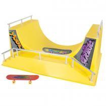 Brinquedo Pista de Skate Half 214 - Lua de Cristal - Lua de Cristal
