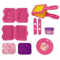 Brinquedo Sorveteria Divertida Massinhas Barbie 7613-4 - Fun - Fun
