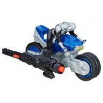 Brinquedo Veículo Homem Aranha Blast N Go Shadow Cycle B5759 - Hasbro - Hasbro